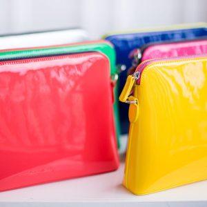 colourful handbags fashion photography