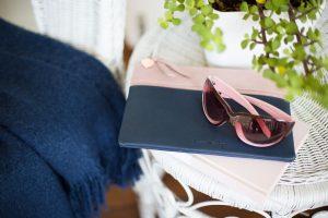 fashion accessories handbag and sunglasses