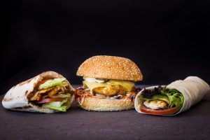fast food styling