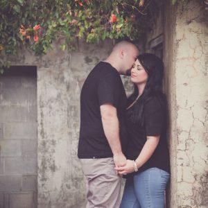 couple romantic portrait