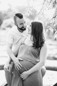 maternity portrait of couple